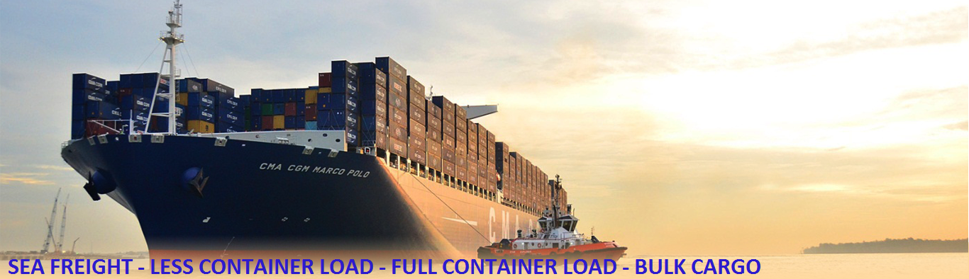 SEA FREIGHT SLIDE