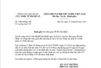 C/O issued retroactively được cấp trong vòng 3 ngày sau khi ngày XK có được chấp nhận?