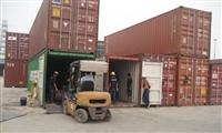 Thủ tục đối với hàng hóa đóng ghép chung Container
