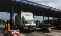 Giảm 35% phí đối với xe tải nặng