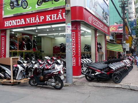 Image result for xe may nhap khau cua hang