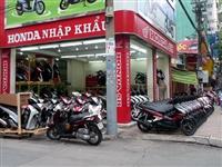 Thủ tục nhập khẩu xe máy
