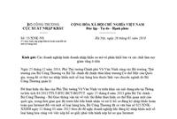 Công văn 53/XNK-NS về thực hiện cấp phép điện tử hoàn toàn do Cục Xuất nhập khẩu ban hành