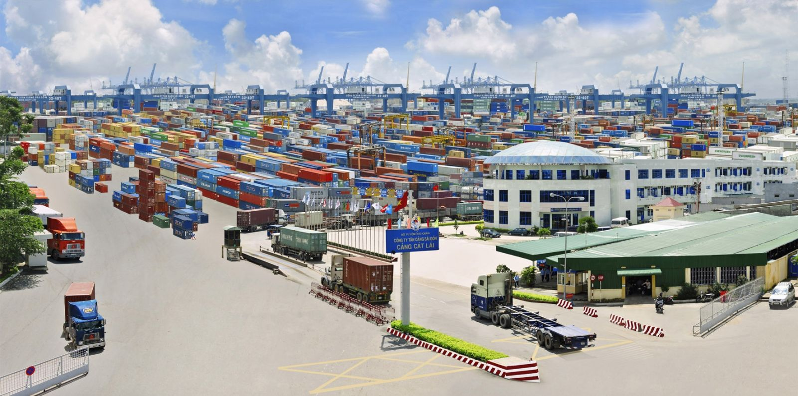 Dịch vụ vận chuyển nguyên container FCL