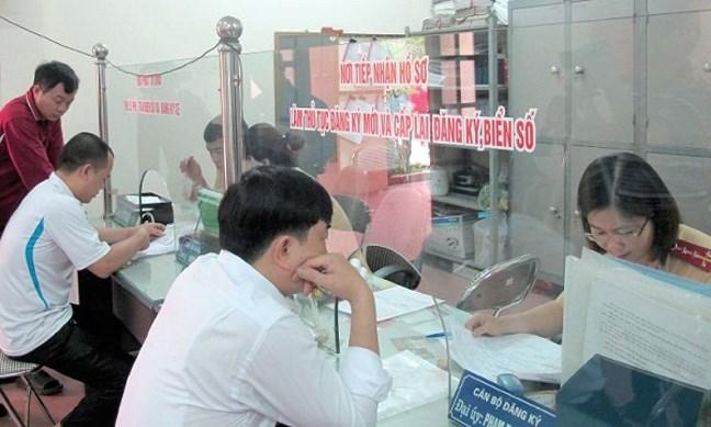 Xin giấy phép đăng ký đăng kiểm thiết bị cơ giới